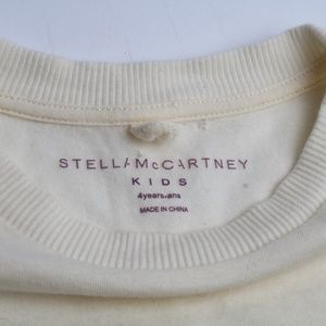SOLD Stella McCartney Kids 4y Sleeveless Cream